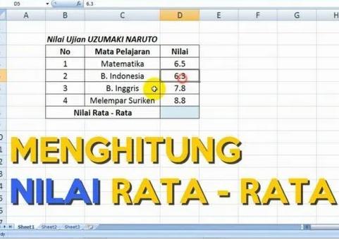 Cara-Menghitung-Nilai-Rata-rata-di-Microsoft-Excel-2007